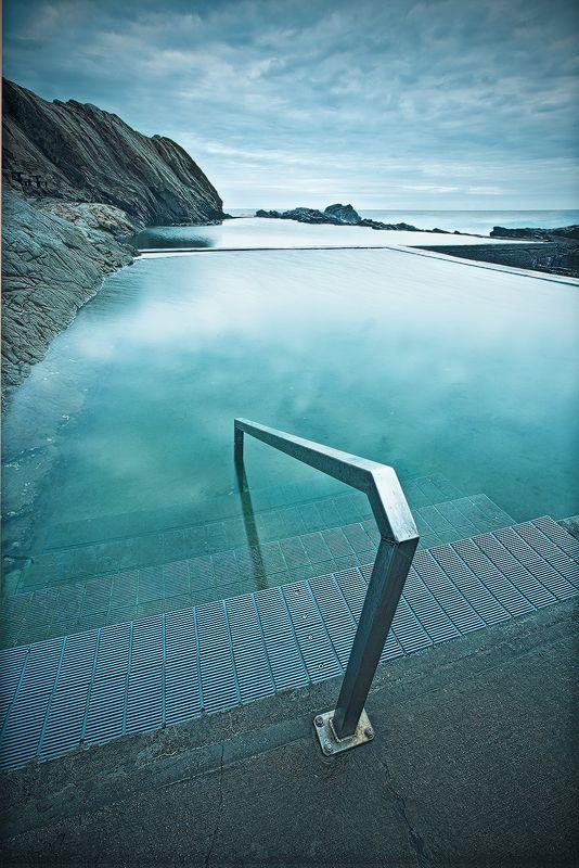 Blue Pool Bermagui NSW Australia