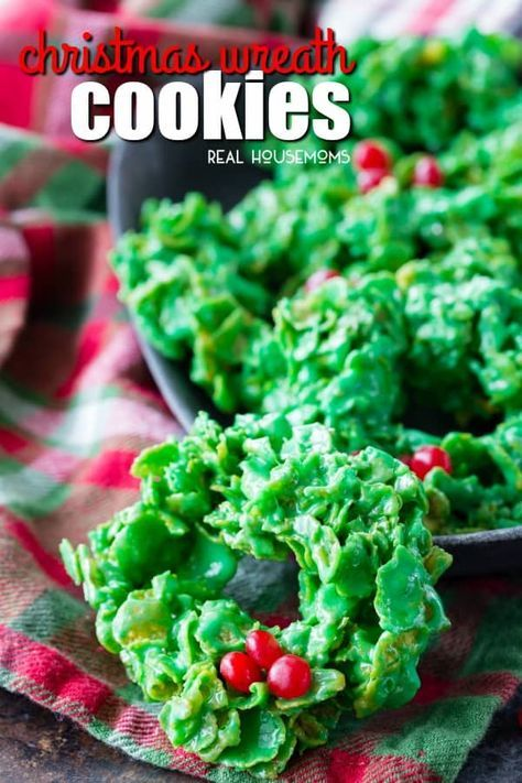 Christmas Wreath Cookies Are A Festive Fun And Tasty Christmas