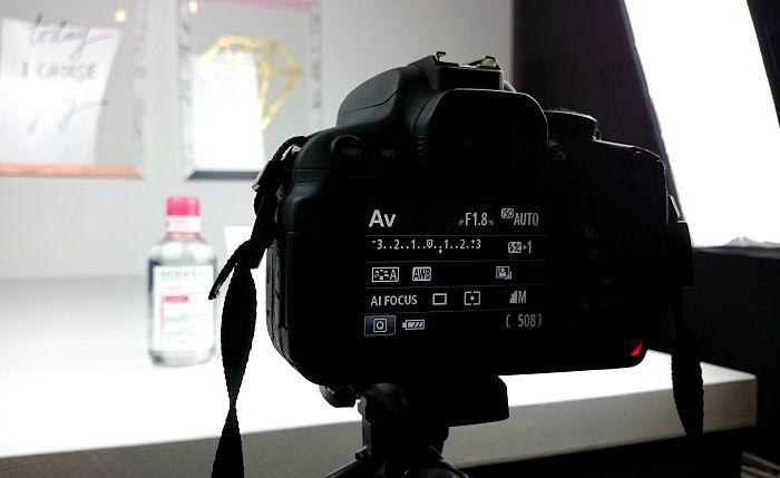 Blogbilder Kameraeinstellung