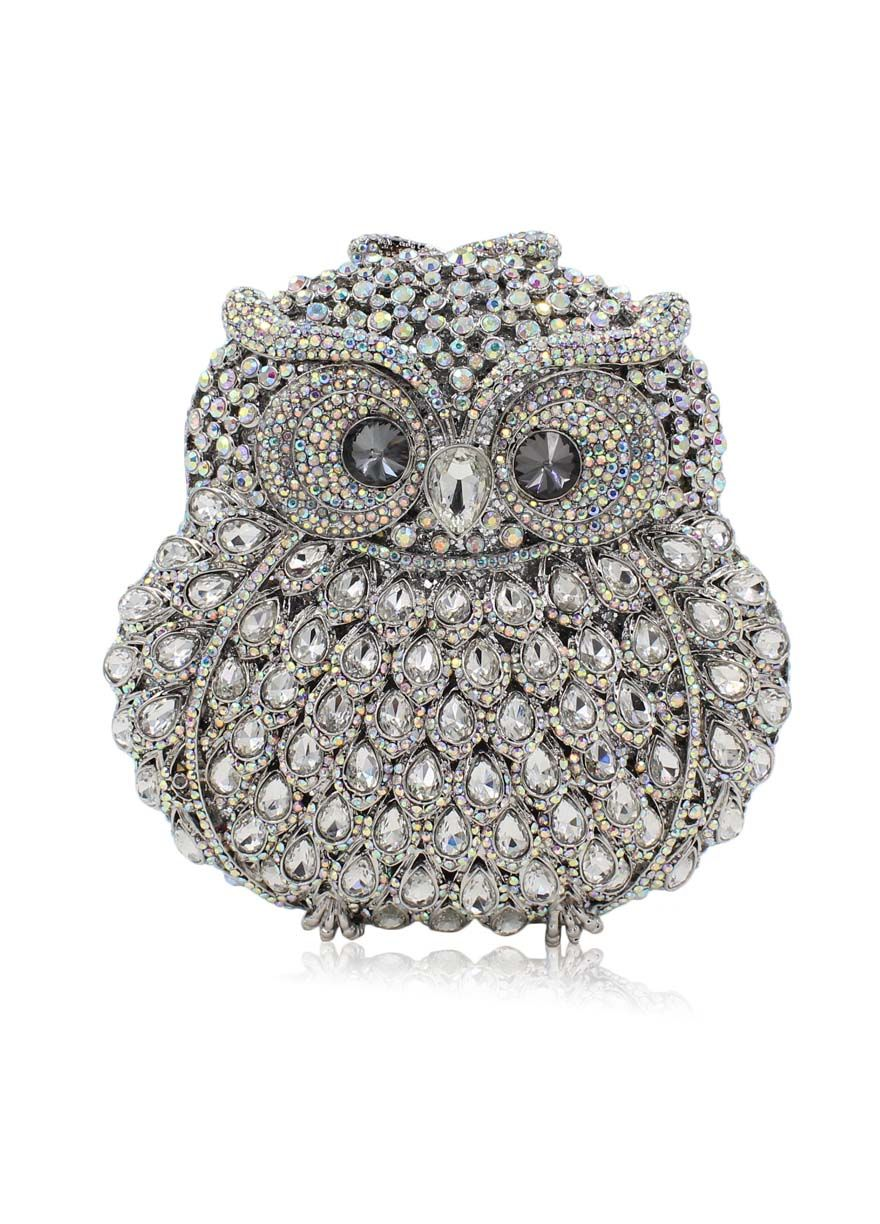 Owl Shape Diamond Beaded Evening Bag_Evening Bag_Women Bags_Sexy Lingeire | Cheap Plus Size Lingerie At Wholesale Price | Feelovely.com