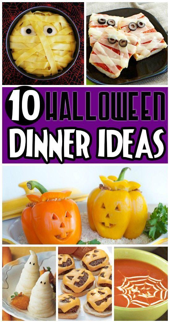 50 FUN Halloween Foods - Halloween Themed Food for Every Meal - cheap halloween food ideas