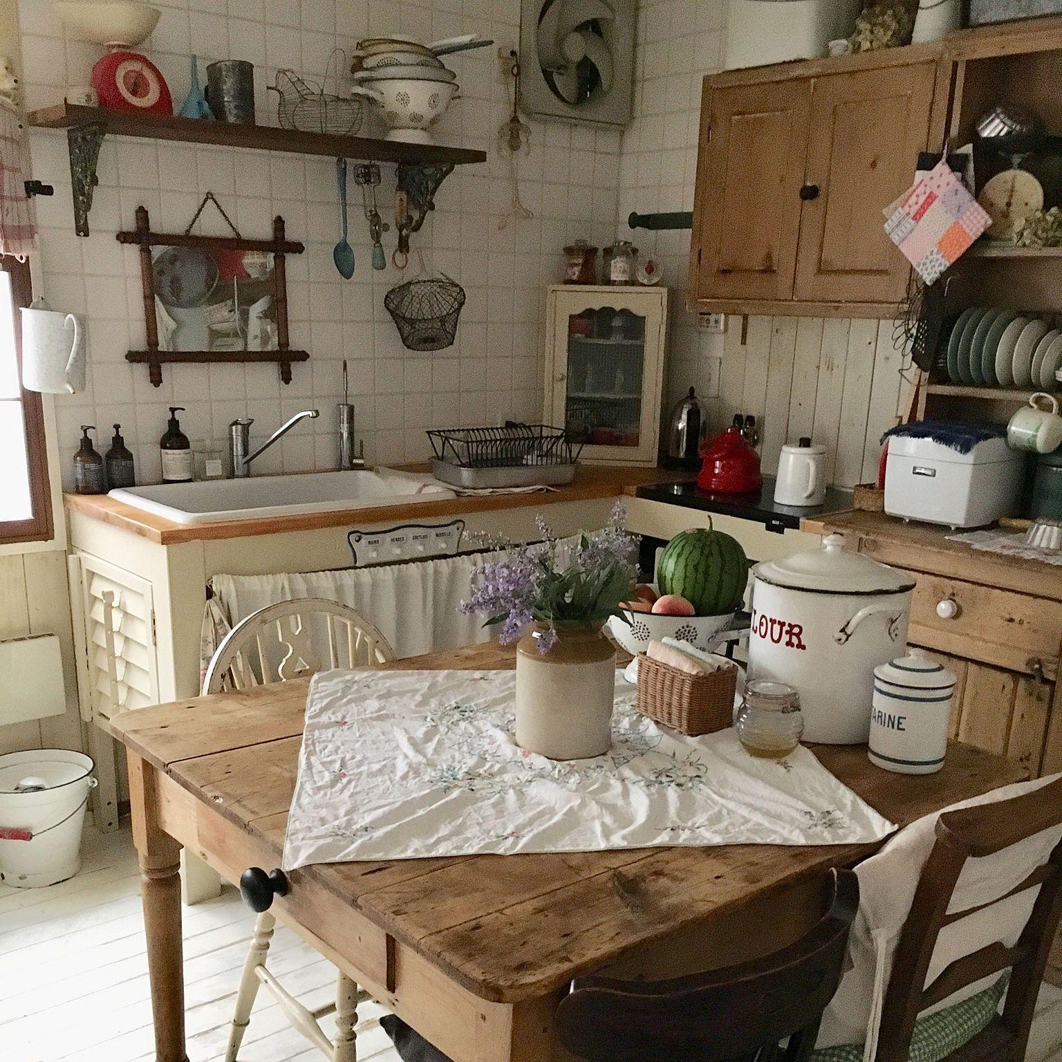 キッチン ナチュラル アンティーク イギリスアンティーク アンティーク