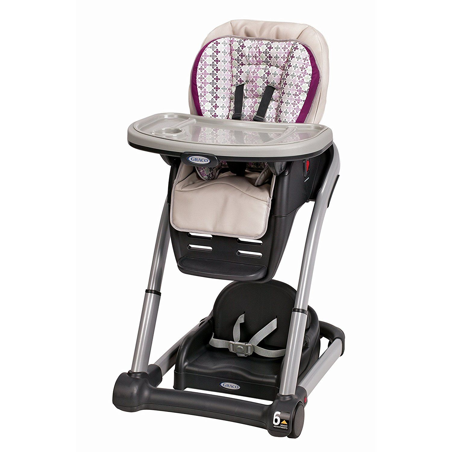 Graco Blossom 6 In 1 Convertible High Chair Nyssa Walmart Com In 2020 Graco High Chair Baby High Chair Convertible High Chair