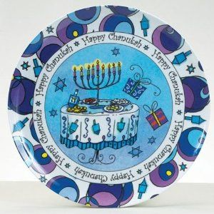 Melamine Hannukah plate  sc 1 st  Pinterest & Melamine Hannukah plate | gifts for family and friends | Pinterest ...