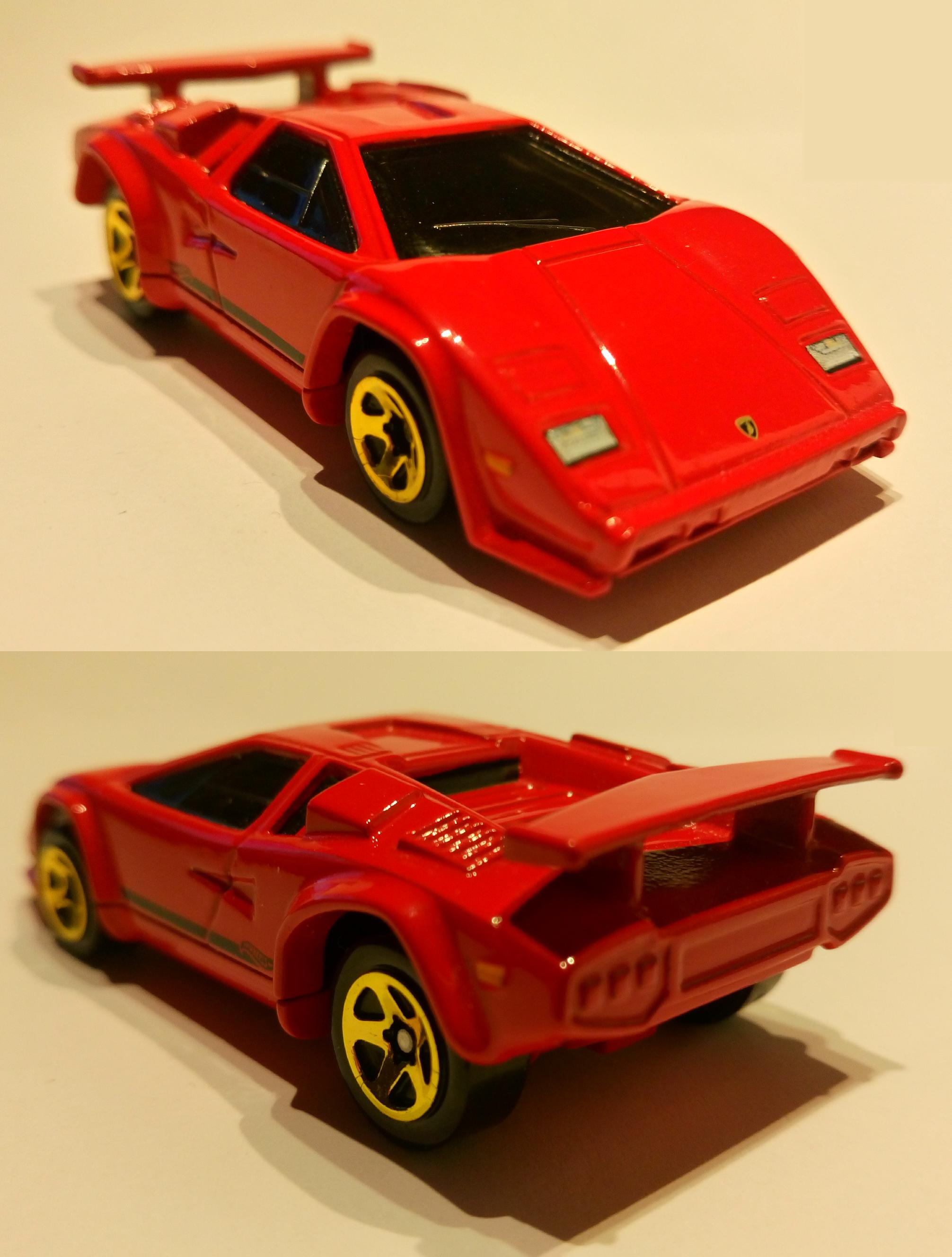 Lamborghini Countach My Hot Wheels Collection Pinterest