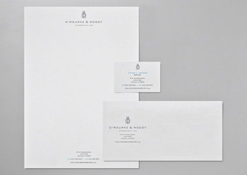 Traditional letterhead layout is great The proportions are