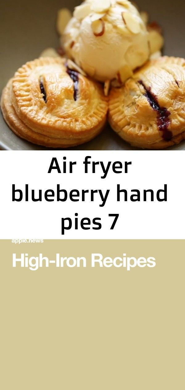 Quick and Easy Hand Pies in the Philips HD 9630 Air Fryer! Perfect for when you want a warm slice o