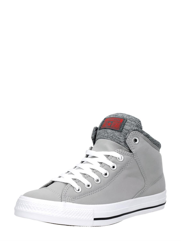 Converse All Star High Street grijs hoge heren sneakers ...
