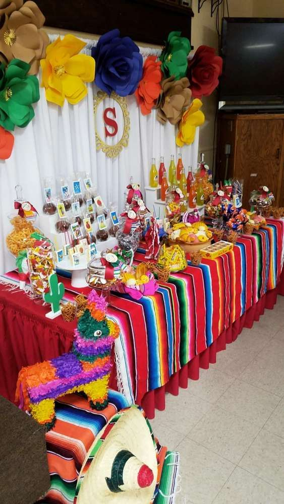 Fiesta / Mexican Quinceañera Party Ideas | Photo 1 of 15 #quinceaneraparty