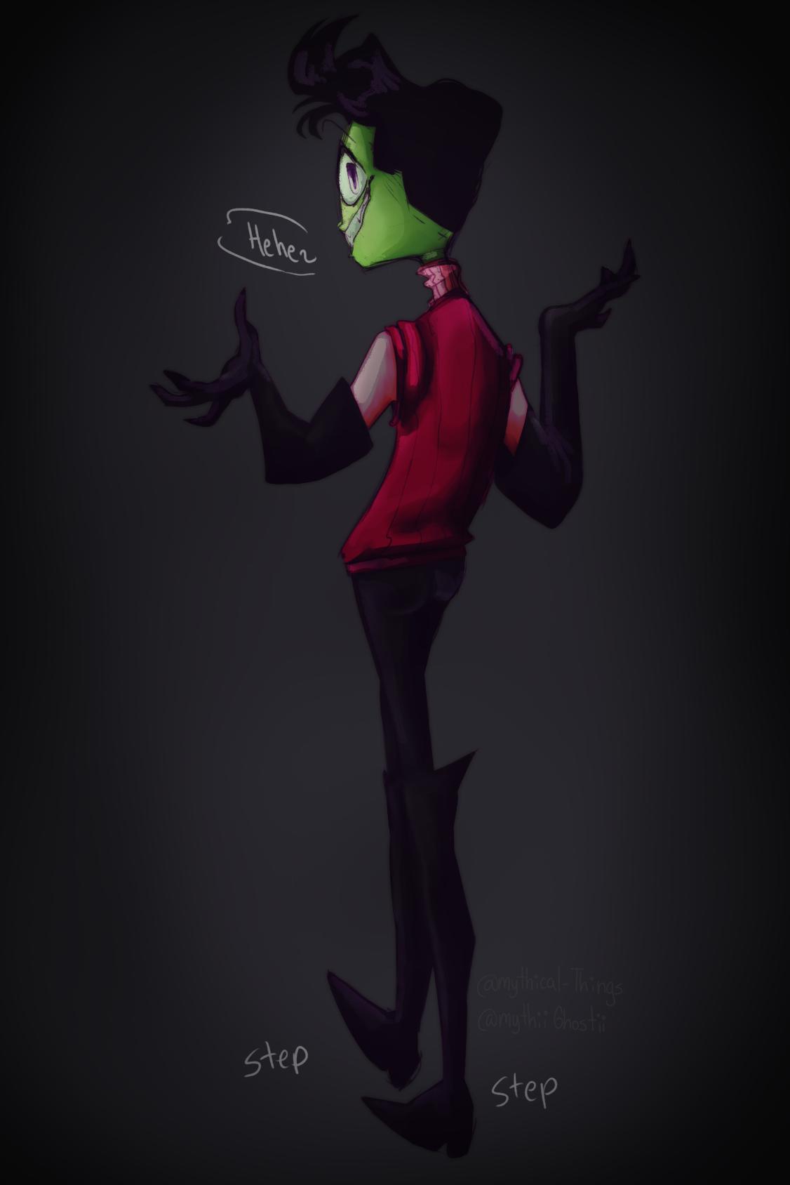 Your (not)Friendly Neighborhood Alien Invader zim