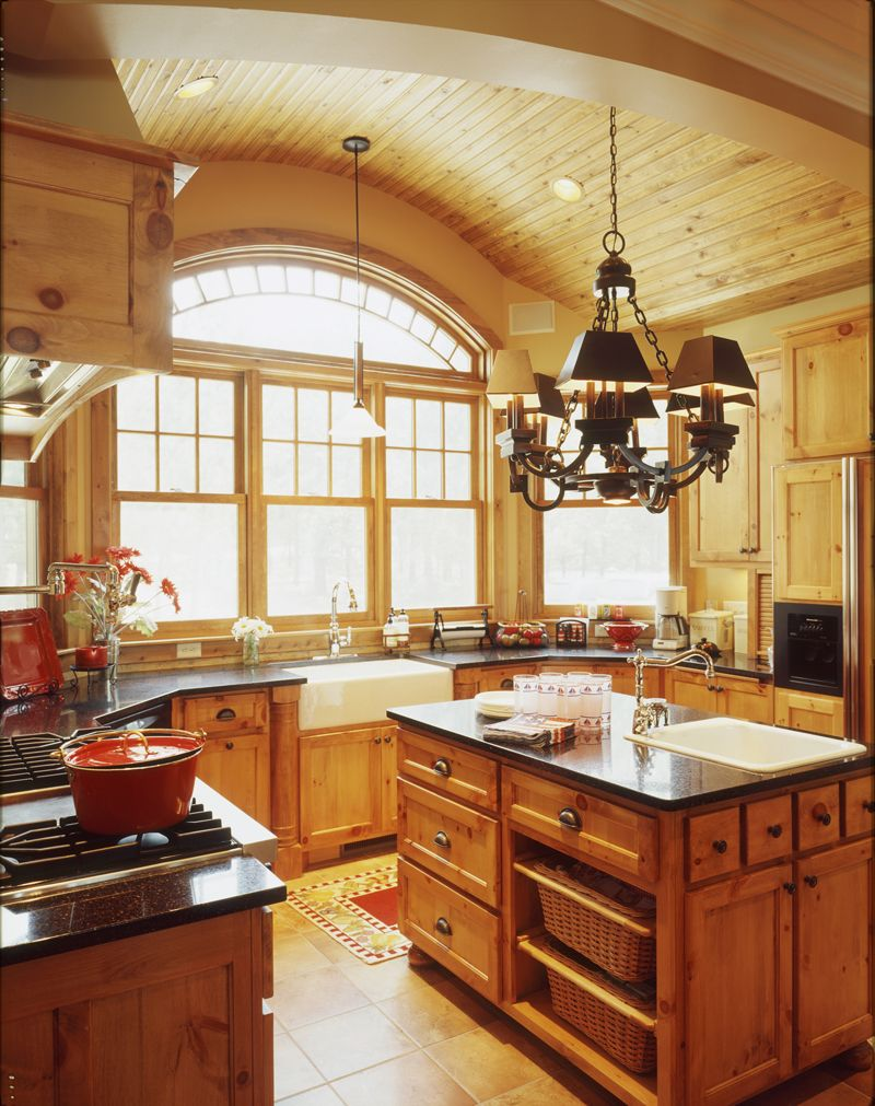 Brady circle luxury home sunlight sinks and window for House plans with kitchen sink window