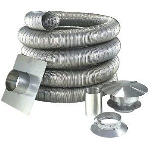 Chimney Liners Come In Aluminum For Gas Applications And