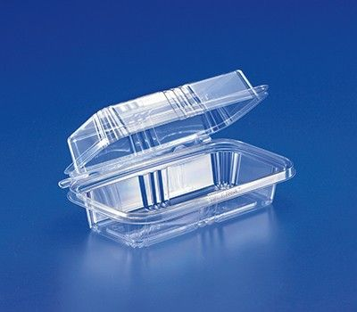 Tamper Evident Hogie Sub Hinged Plastic Container 150 Case Plastic Food Packaging Tamper Evident Plastic Containers