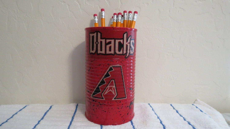 Arizona Diamondbacks Mlb Pencil Holder Pencils Pens