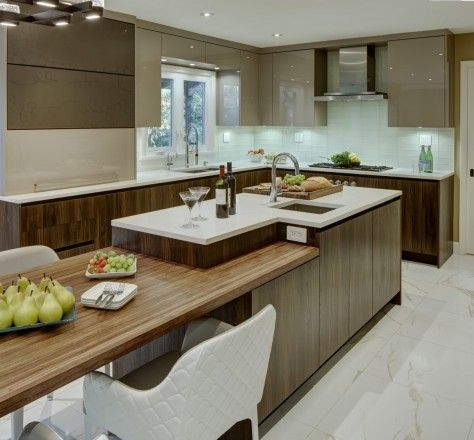 Client: Modiani Kitchens and Interiors - Country: USA - City: Englewood Cliffs, New Jersey #CesarKitchen #design #interiors #kitchen