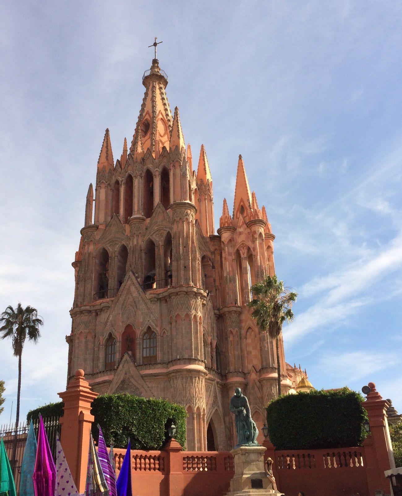 San Miguel de Allende church, Mexico