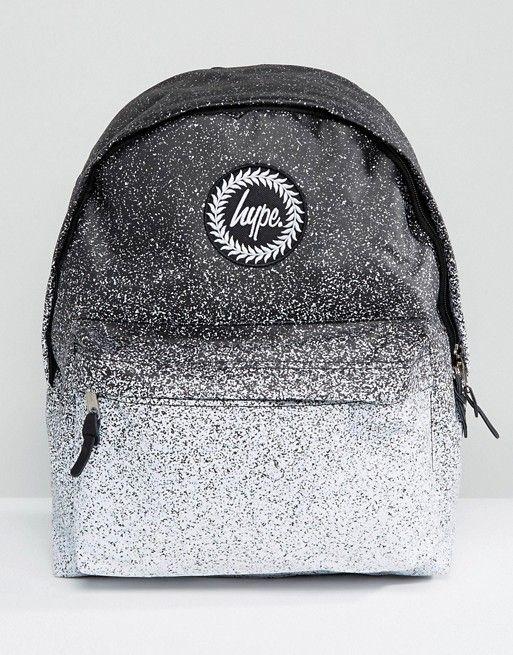 3617e76a87 Hype Monochrome Speckle Fade Backpack