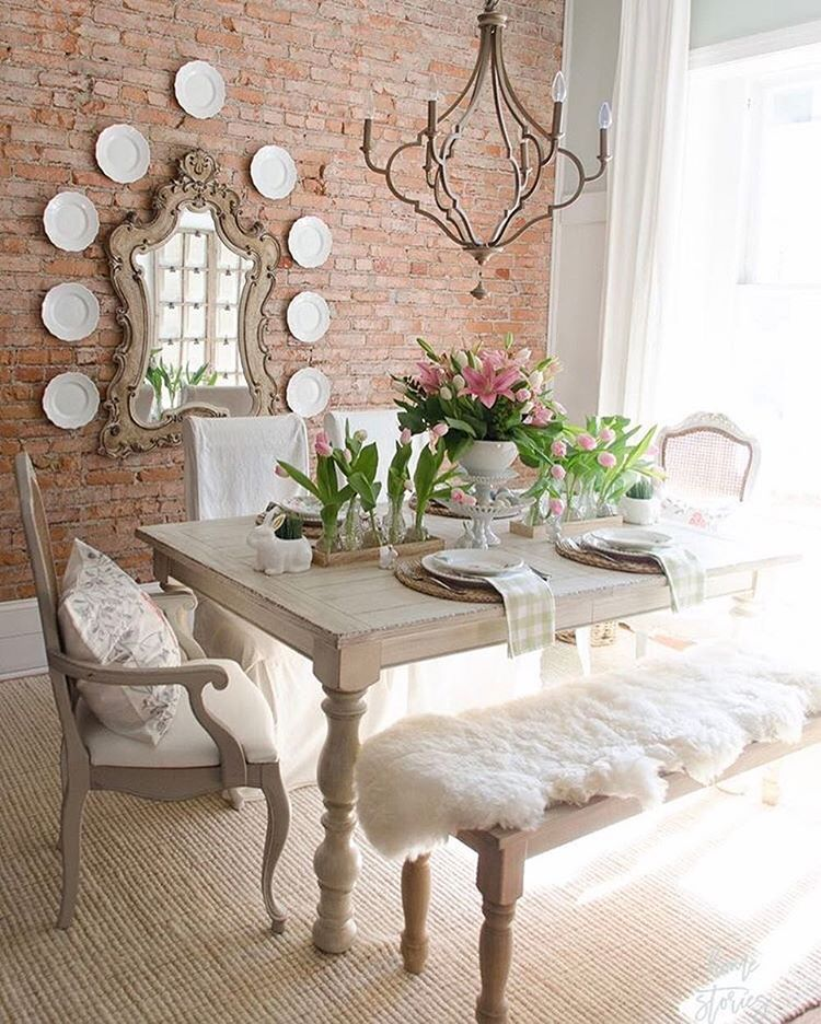 19 Urban Dining Room Designs Decorating Ideas: The Cottage Journal (@thecottagejournal) On Instagram