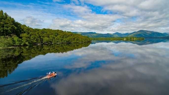 Loch Lomond: 1-Hour Cruise #lochlomond