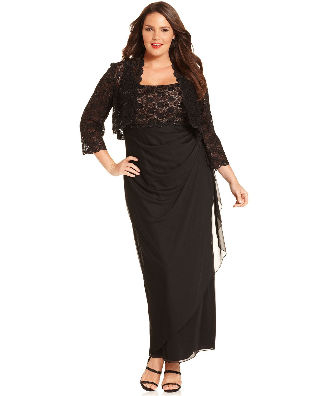 Black Plus Size Dresses Macys - raveitsafe