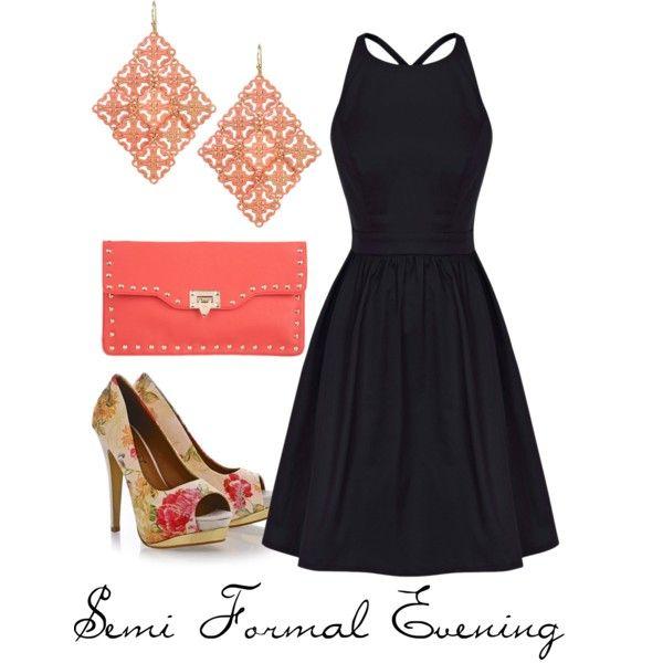 semi formal evening wedding wear by thoughtsbyapetitebrunette on ...