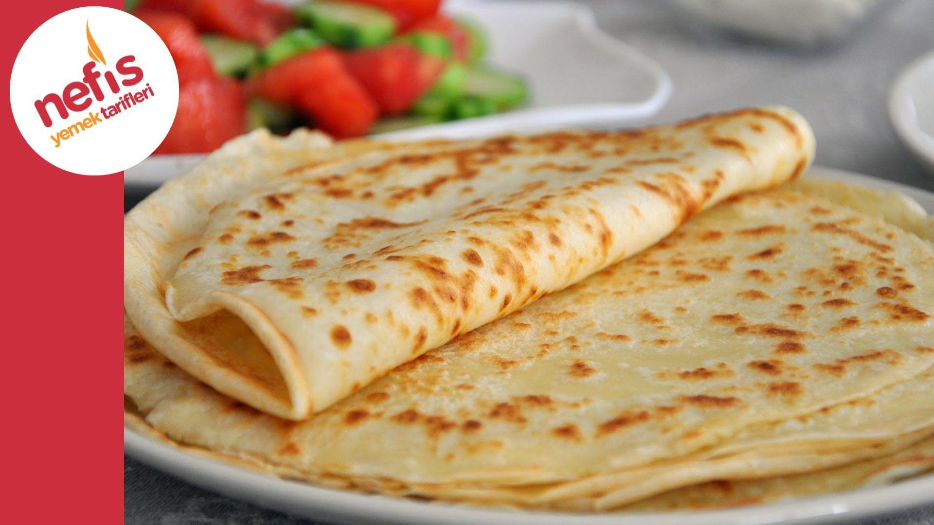 Kahvaltılık Krep Tarifi Sesli Anlatımı ile   Nefis Yemek ...