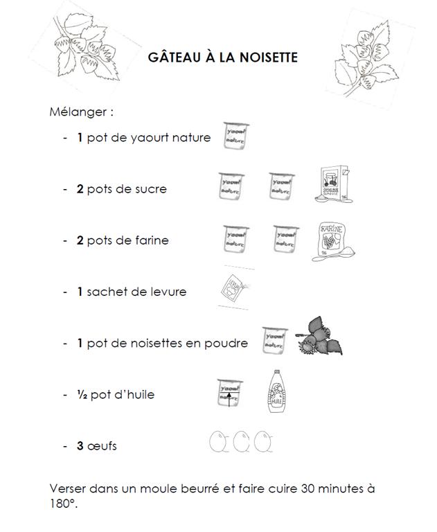 Gateau yaourt recette illustree