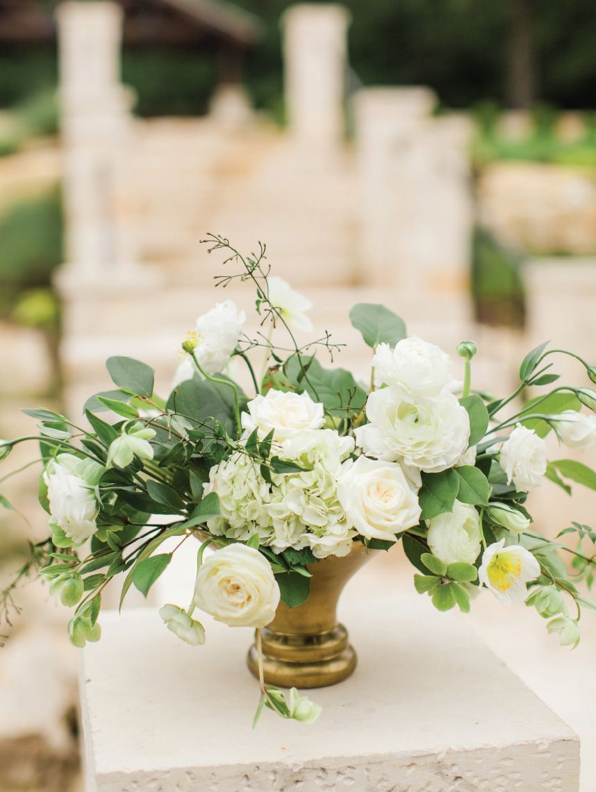 White And Rattan Wedding Inspiration Captured By Kylie Crump