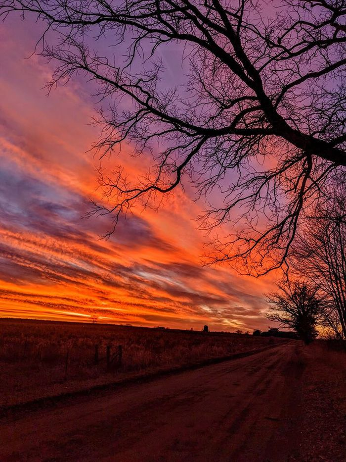 Incredible sunsets and sunrises make up for lack of Christmas snow in Michigan - mlive.com
