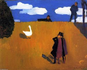 Le Goose - (Edouard Vuillard)