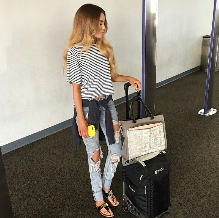 Perfect traveling outfit