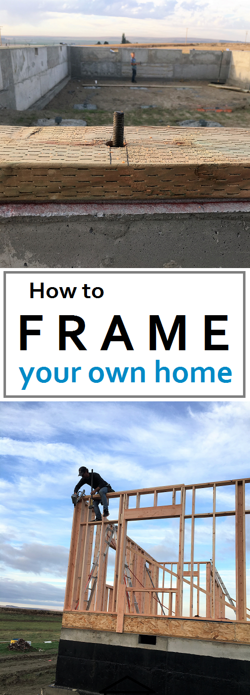 How to frame your own home. Great instructions for everything you ...