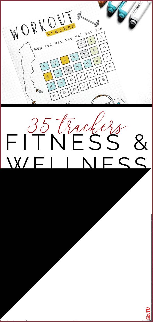 35 Motivating Fitness 038 Wellness Bullet Journal Layouts 35 Motivating Fitness 038 Wellness Bullet...
