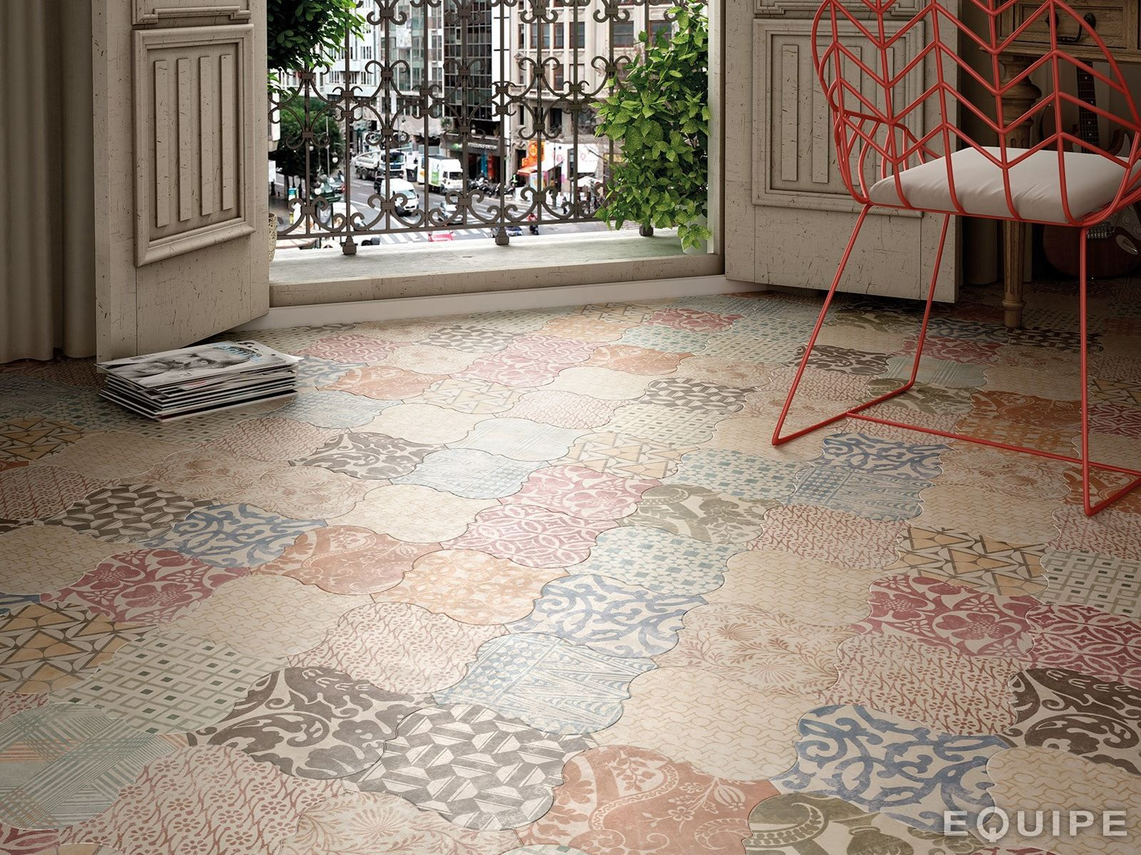 21 arabesque tile ideas for floor wall and backsplash living weve just discovered these fantastic arabesque tiles with so much potential for floor dailygadgetfo Image collections