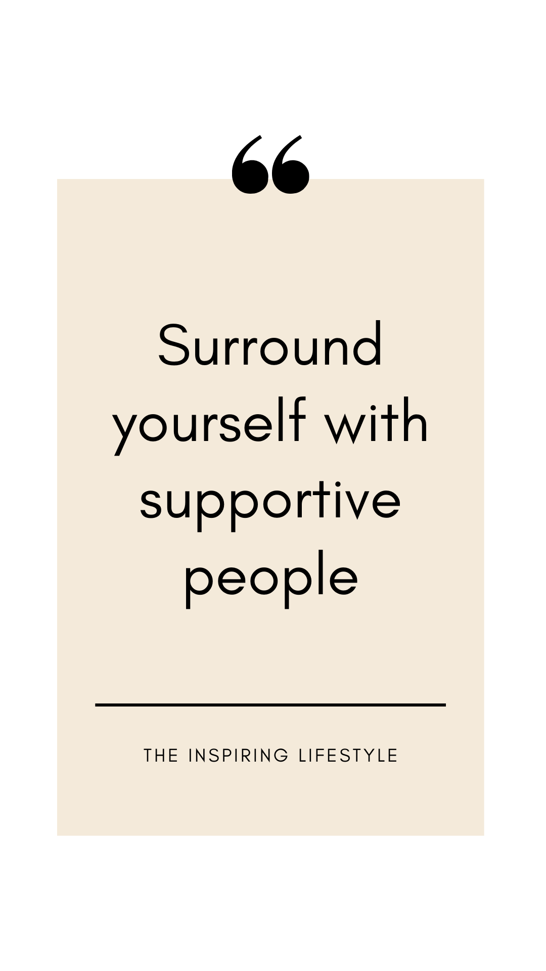 ❥ Support yourself. ❥ Support good causes. ❥ Support people. | People  quotes, Support quotes, Be yourself quotes