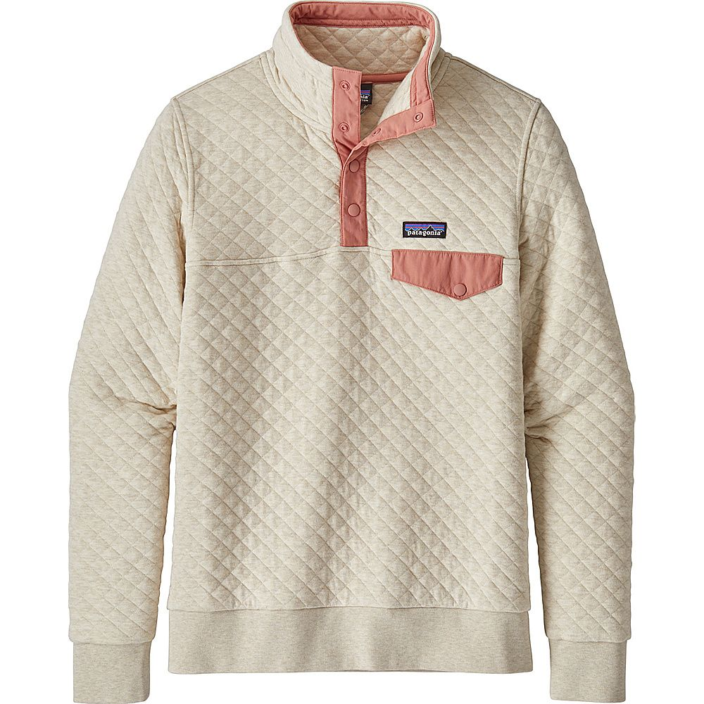 Patagonia Womens Organic Cotton Quilt Snap T Pull Over