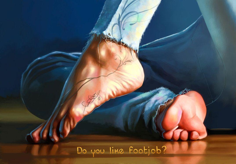 Drawing sexy feet