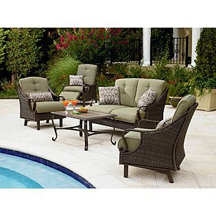 La Z Boy Outdoor Peyton 4 Pc Seating Set I Ordered From Sears On