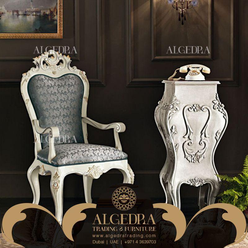 Looking for the most classic yet amazing furniture for your place? We provide a FREE consultation for all! هل تبحث عن أثاث راقي يناسب ذوقك لمنزلك, اتصل بنا الآن لنساعدك في اختيارك ونقدم لك الأنسب 00971528111106 www.algedratrading.com  #Classic #Furniture #Interior #Design #Decor #Luxury #Comfort #ALGEDRA #UAE #Dubai #MyDubai #creative #luminous   #فريد #فاخر #أثاث #تجارة #أثاث_مفروشات #أثاث_منزلي #أثاث_فنادق #مفروشات #الكيدرا #دبي #الإمارات #سرير #أريكة #صوفا
