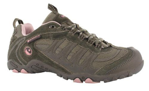 7b394314596 Hi Tec womens HiTec Ladies Penrith Lace Leather Waterproof Walking ...