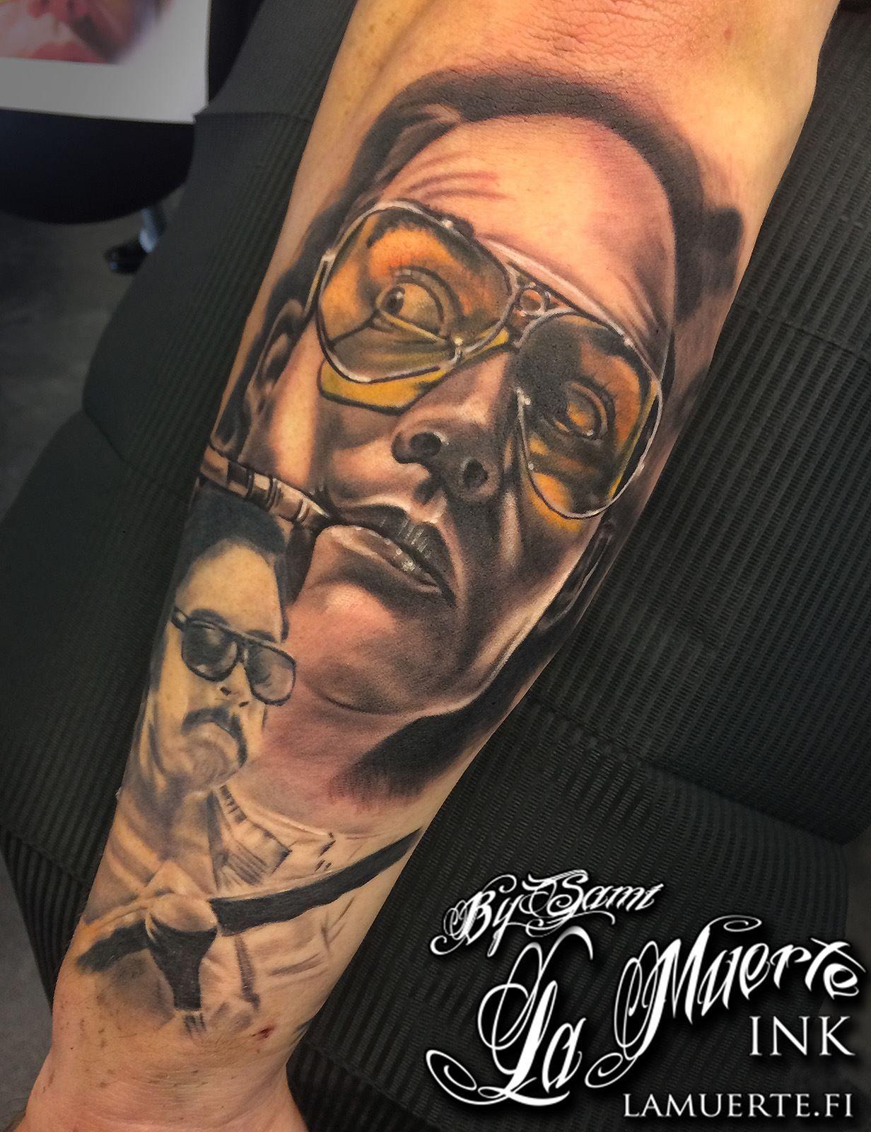 Fear and loathing in las vegas johnny depp tattoo by