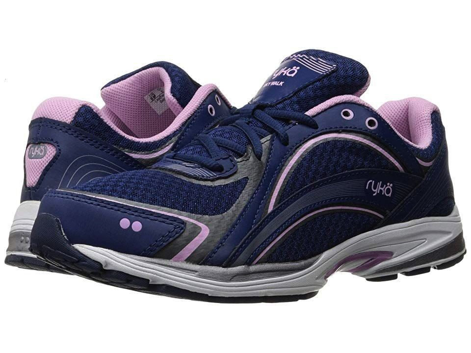 Sky Walk Jet Ink BlueOrchid BouquetMeteorite Womens Walking Shoes Luke may need to take some tips from you when you step in with the Sky Walk sneakers from Ryka Breathabl...