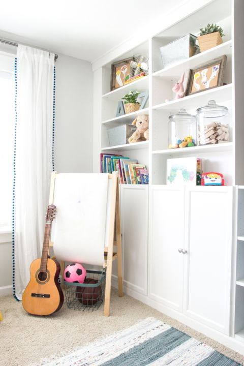 Photo of Eclectic Farmhouse Playroom Reveal & ORC Week 6 – Bless'er House