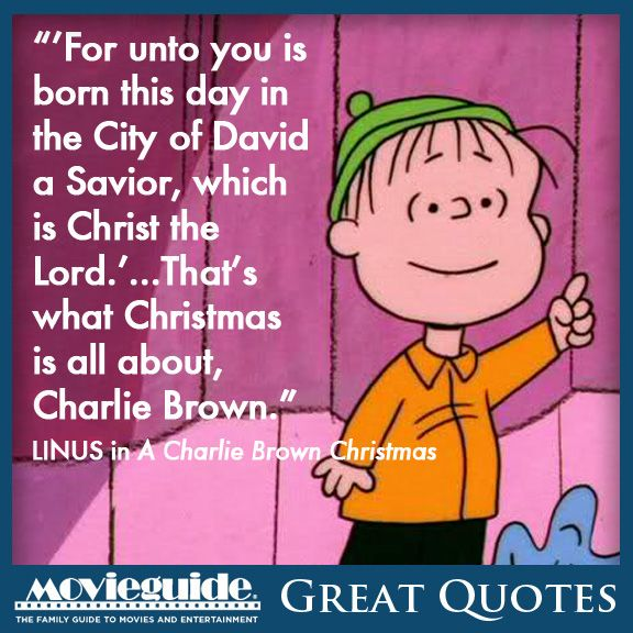 Amen, Linus! From A CHARLIE BROWN CHRISTMAS! | Catholic Christmas ...