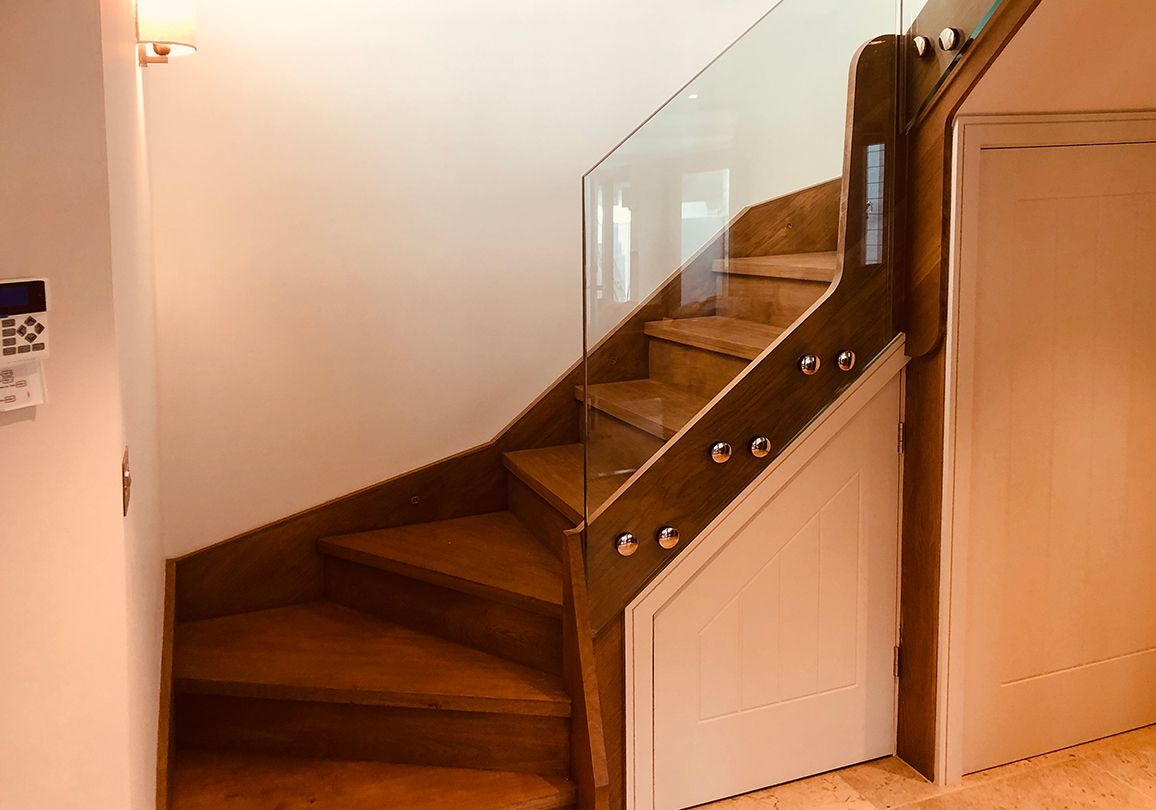 Best A Double Winder Staircase Complete With 42Mm Treads And 400 x 300