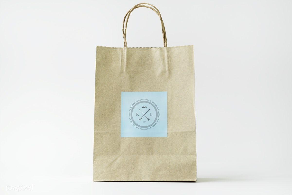 Download Download Premium Psd Of Paper Bag Mockup 296356