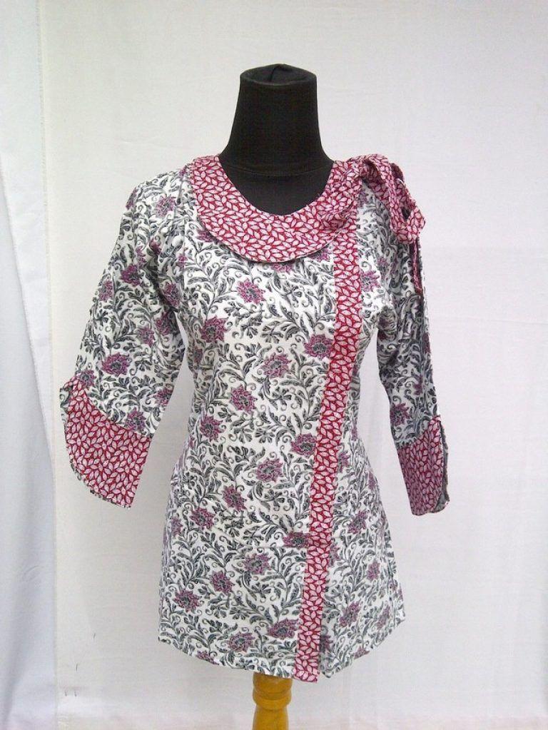 model baju atasan wanita lengan panjang terbaru 2e8244cd4c