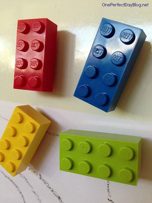 DIY Lego fridge magnets how to | Anthony's Things | Pinterest ...