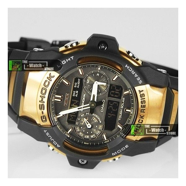 d93242e11c56 Image detail for -GS-1050B-5A Casio G-Shock Tough Solar Rose Gold Metal GIEZ  Watch