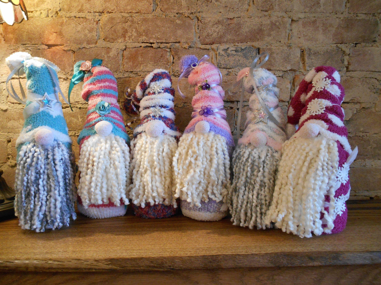 Christmas Gnomes, Holiday Sock Gnomes, Christmas Sock